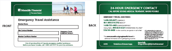travel and group insurance benefits